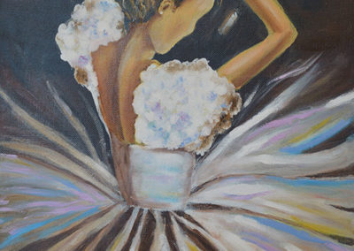 Peinture à l'huile enfants
