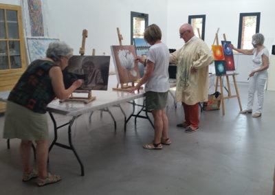 Peinture adultes – atelier
